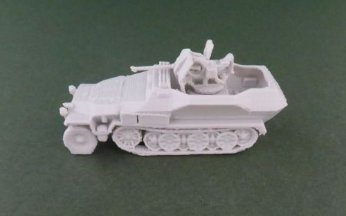 Sd Kfz 251/17 20mm AA halftrack (1:48 scale)