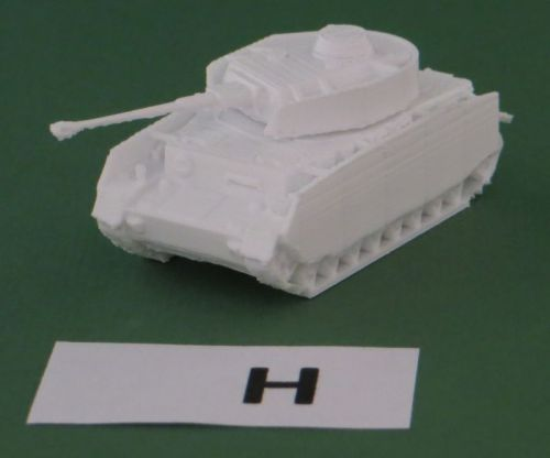 Panzer IV A to J (1:48 scale)