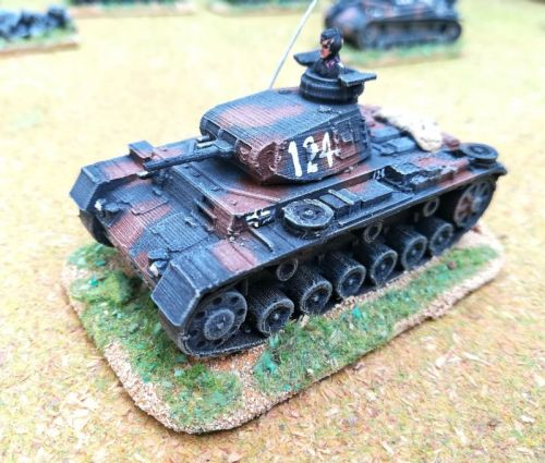 Panzer III E to N (15mm)