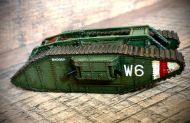 Mark IV Female tank (1:48 scale)