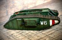Mark IV Female tank (6mm)