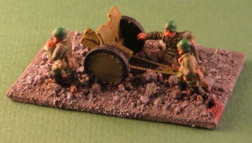 76mm (1927) Infantry gun (1:48 scale)