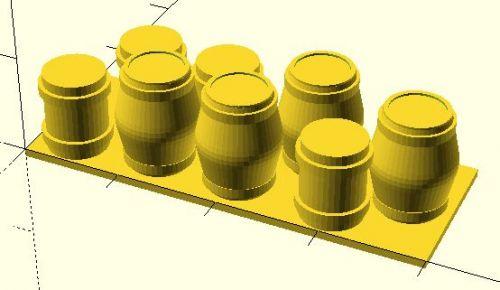 53x20 mm Barricade #3 (20mm)