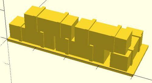 53x20 mm Barricade #4 (20mm)