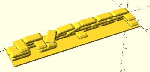80x15 mm Barricade #4 (15mm)