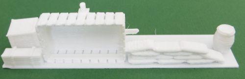90x20 mm Barricade #5 (15mm)