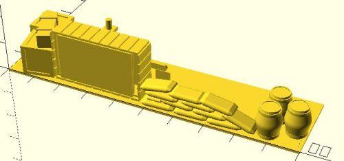 100x25mm Barricade #1 (15mm)