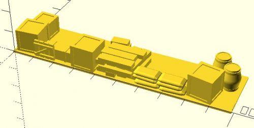 100x25mm Barricade #2 (15mm)