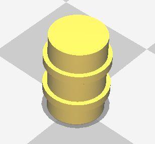 Barrel D, x10 (15mm)