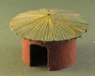 15mm Grass hut