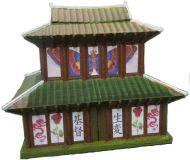 Korean / Japanese pagoda (15mm)