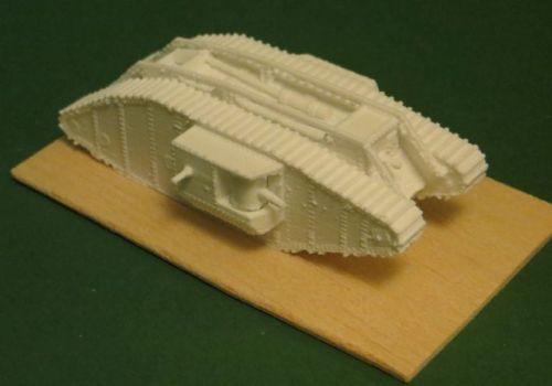 Mark IV Hermaphrodite tank (6mm)