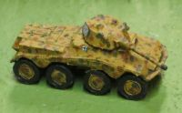 Sd Kfz 234/2 Puma Armoured car (28mm)