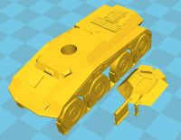 Sd Kfz 234/1 2cm Armoured car (6mm)