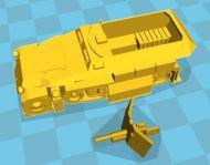 Sd Kfz 251/10 37mm halftrack (6mm)