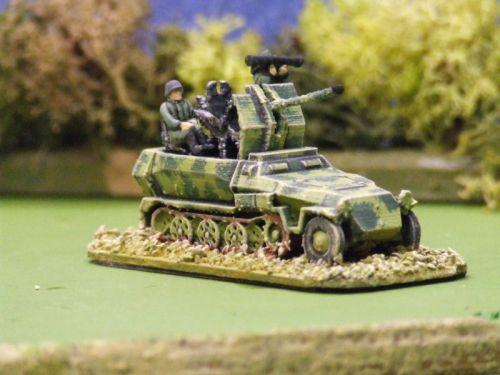 Sd Kfz 251/17 20mm AA halftrack