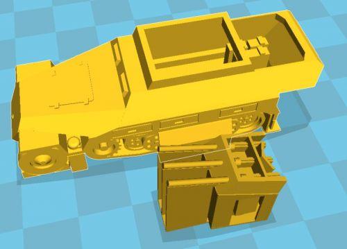 Sd Kfz 251/21 Drilling AA halftrack (12mm)
