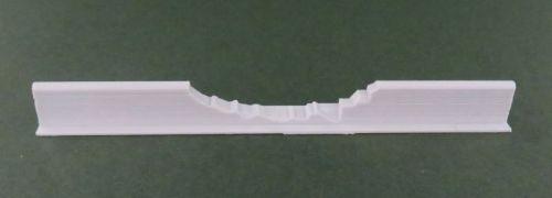 100mm Damaged Low Adobe Wall straight #1 (6mm)