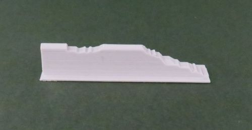 50mm Damaged Low Adobe Wall end (20mm)