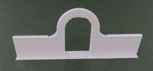 High Brick Wall with Arch (6mm)