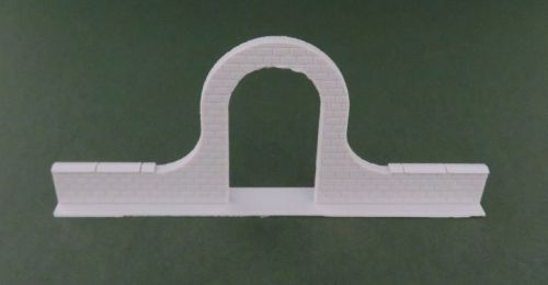 Low Brick Wall with Arch (28mm)