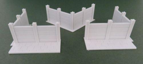 Concrete Slab Fence corner (12mm)