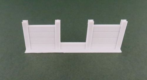 Concrete Slab Fence with Hole (12mm)