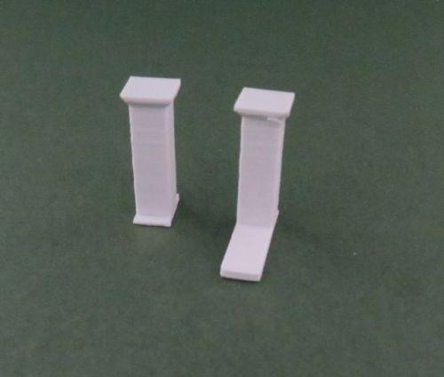 High Rendered Wall Pillars x10 (20mm)