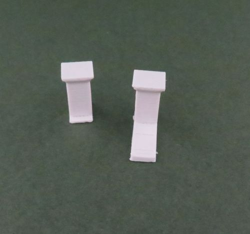 Low Rendered Wall Pillars x10 (28mm)