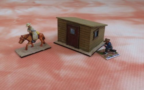 Shed with Windows (28mm)